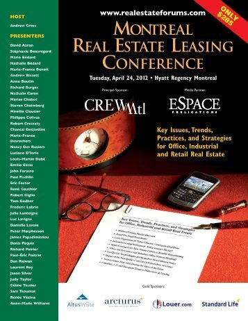 12-015 (MontLeasingBroch):08-014 - Real Estate Forums