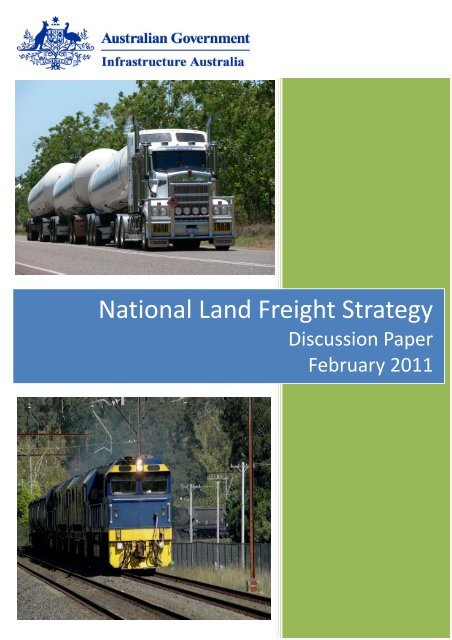 National Land Freight Strategy - Infrastructure Australia