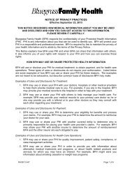 Notice of Privacy Practices - Signature Health