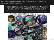 (Tunneling and) Propagation of Vacuum Bubbles on Dynamical ...