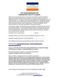 Austin Shafran - Citizens Union