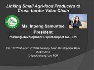 Pakxong-Development Export-Import Co., Ltd.