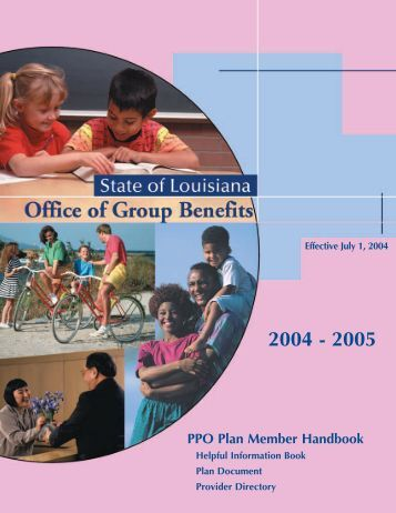 PPO Plan 2004 - Office of Group Benefits