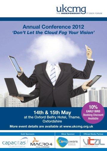 event brochure - UKCMG