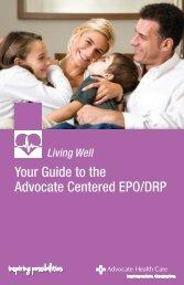 Advocate Centered EPO/DRP - Advocate Benefits