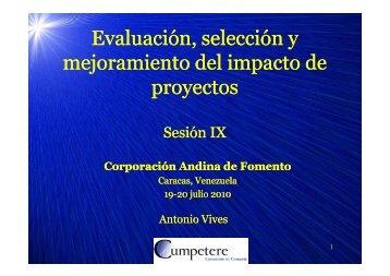 Sesión IX - Cumpetere