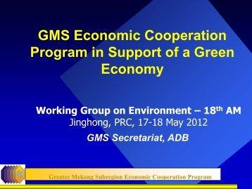 Greater Mekong Sub-region Economic Cooperation ... - GMS-EOC