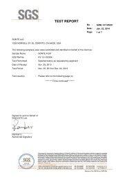 SONTE SGS TEST Dokument
