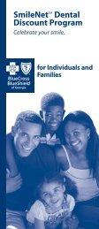 SmileNetSM Dental Discount Program - Blue Cross Blue Shield of ...