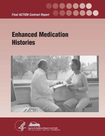 Enhanced Medication Histories - AHRQ National Resource Center ...