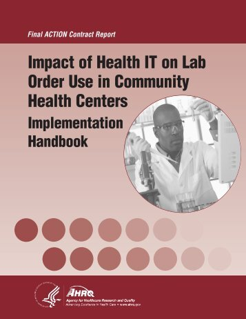 Impact of Health IT on Lab Order Use in Community Health Centers ...