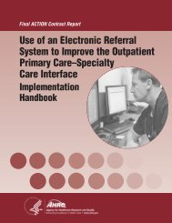 Use of an Electronic Referral System to Improve the Outpatient ...