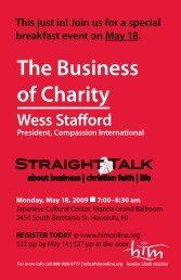 The Business of Charity - him online
