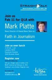 Mark Platte - him online
