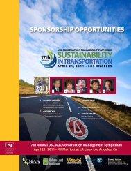 sustainability in transportation - CMAA