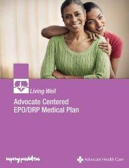 EPO Plan Summary - Advocate Benefits - Advocate Health Care