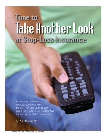 at Stop-Loss Insurance - International Foundation of Employee ...