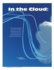 In the Cloud: - International Foundation of Employee Benefit Plans