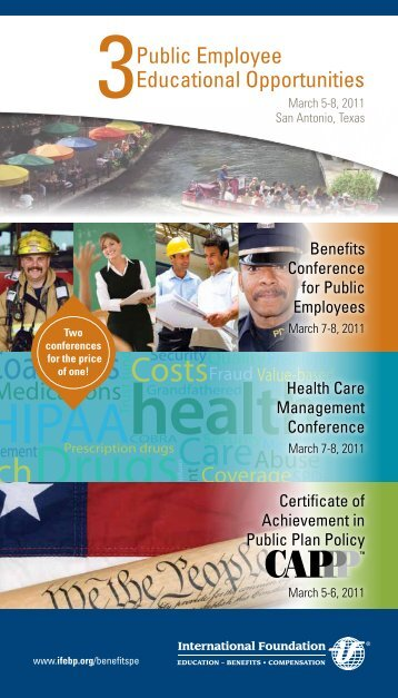 3 Public Employee Educational Opportunities - Full Brochure