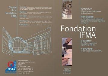 Charte Fondation IFMA
