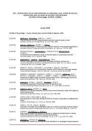 Titre du document - IFMA