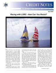 Racing with LORC - How Can You Resist? - Port Credit Yacht Club