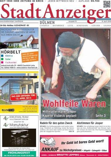 Stadt Anzeiger Dülmen KW 15