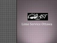 Limo Service Ottawa