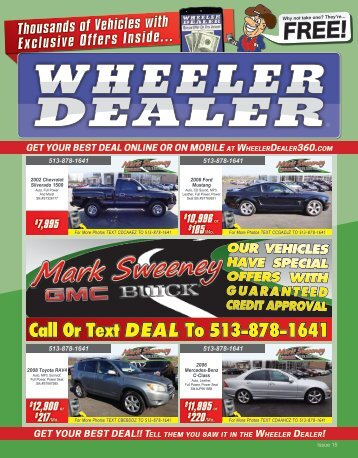 Wheeler Dealer 15-2015