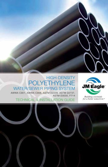 High-Density Polyethylene - JM Eagle