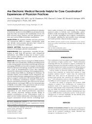 Are Electronic Medical Records Helpful for Care Coordination ...