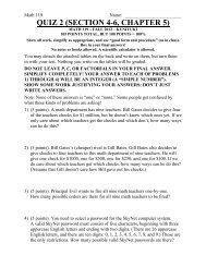 QUIZ 2 (SECTION 4-6, CHAPTER 5) - Kkuniyuk.com