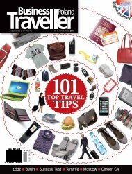 Download entire edition in PDF - Business Traveller