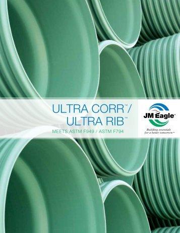 Ultra COrr ™/ Ultra rIB ™ - JM Eagle