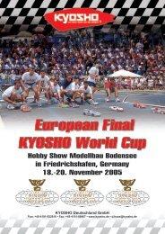 European Final in Friedrichshafen • 18. - 20. November 2005 - Kyosho