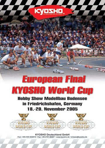 European Final in Friedrichshafen • 18. - 20. November 2005 - Kyosho