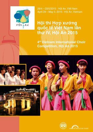 Hoi An 2015 - Program Book