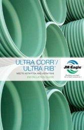 ULTRA CORR™/ ULTRA RIB™ - JM Eagle