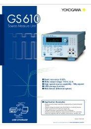 Source Measure Unit GS610 - nbn Elektronik AG