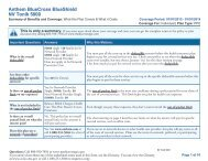 Anthem BlueCross BlueShield NV Tonik 5000 - Medicoverage