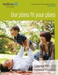 Anthem CA Lumenos HSA Brochure - Medicoverage