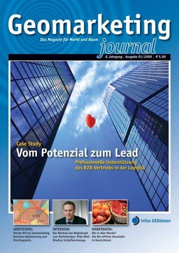Vom Potenzial zum Lead - infas GEOdaten