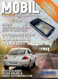 carsharing atlas 2011 carsharing atlas 2011 - Mobil in Deutschland ...