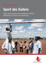 Sport des Südens - Nord-Süd-Netz