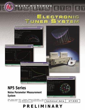 NP5 Series Noise Parameter Measuring System - MB Electronique