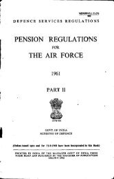 Part-II - Controller of Defence Accounts (Pensions)