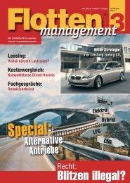 Alternative Antriebe - Flotte.de