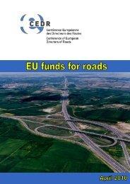 EU funds for roads - CEDR
