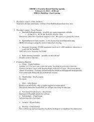 MHSBCA Executive Board Meeting Agenda February 12, 2012 – 10 ...