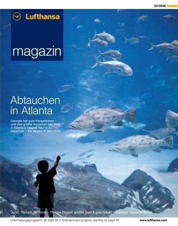 magazin - Lufthansa Media Lounge: Home